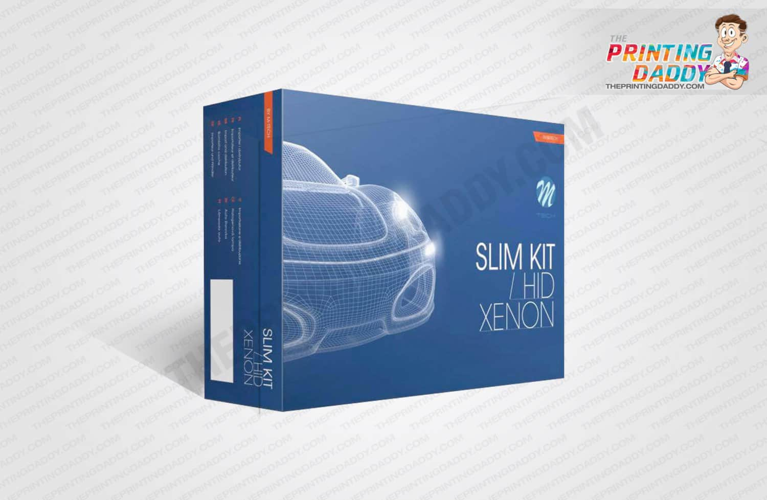 Xenon Lighting System Packaging Boxes The Printing Daddy
